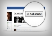 Get You 50 Real Facebook Subscribers