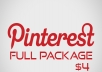 Get You 50 Pinterest Repins +50 Pinterest Likes +50 Pinterest Folowers