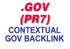 create Contextual, DoFollow PR7 GOV Backlink On High Quality PR7 Gov Site, Get This AUTHORlTY Gov Source To Boost Your Seo Ranking In Google