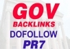 create 10 PR7 High PR DoFollow Gov Backlinks Get These Gov Sources To Improve Your Organic Seo Rankings In Google Yahoo and Bing