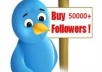 50,000+ Real Looking and Permanent Twitter Followers to any account without any Password in less than 9 Hours