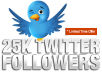 will add ★★ 25,000+ Real twitter followers★★ In 24 Hours to your account without needing pass super Fast delivery