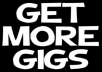 Create 5 Unique Extraordinary Gigs On Your Account And Get You Sales Within Hours And Promote It On Social Networks