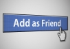 add 10 active real USA Facebook Friends to your account 