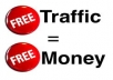 reveal to you how you can access over 80million world traffic for free