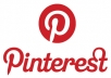 Pin or Repin your 2 URL/Links on my Pinterest account