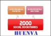 create 75 PR3 to PR8 seo linkwheel and 2000 social bookmarking backlinks