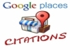 submit your business details on the *22 TOP AU* CITATION SITES to boost your google places listing