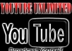 give you ways to get Real Unlimited YOUTUBE Views in 24 hours