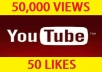 give your Over 50,000 Unique REAL Views and 20 Likes Guaranteed
