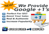 increase your 65 real google+1 vote 60+ google share from real google+1 account