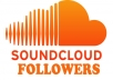 increase your 150+150 souncloud followers Which is doing by 100% real &amp; active user &amp; people with full satisfacetion