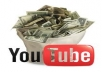 show how to make 100 200 dollars daily with You Tube 