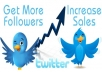 Get You 1000 Twitter Followers anf tweet your url to my followers in twitter account