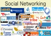 Get You 200 Social media Backlinks From The Best Pr rated sites