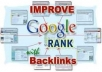 Create 2500 Indexed Backlinks To Your Website/Blog, Complete Report After Submission, Boost Traffic To Your Site