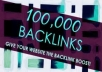 give u high quality 100000+ Backlinks maker tool