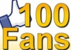 get 100 Real fans to your facebook fanpage within 24hrs