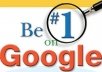 ==give you a 1 week professional SEO campaign to optimize your Google ranking==
