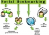 do manually social bookmarking in top 50 to 60 sites with live link + report within 8 hours