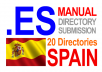 submit to 20 spanish directories 10 es and 10 com spanish directories and translate title and metas