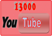 deliver 15000 + YouTube views to your Youtube videos