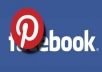 give you 4000 facebook likes on pinterest profile