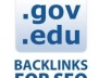 give you trick to find edu and gov backlinks for your niche