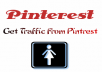 generate up to 1000 visits to your website/blog from Pinterest