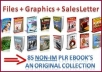 give you my private collection of 85 non internet marketing ebooks with full private label rights 
