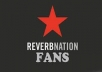 GIVE YOU 200++ REVERBNATION REAL AND SAFE FANS LIKES ON YOUR REVERBNATION PROFILE PAGE ONLY{100% MANUALLY DONE}