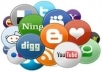 submit your unlimited Urls or Links to 700+ Social BOOKMARKS with Complete Report in 24 Hours 