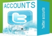 give 200 accounts twitter have profile,avatar,location real USA in 24h