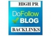 create manually Build 150 High PR Seo Backlinks...!!!!!