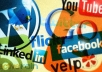 promote your website to 70,000+ people on facebook,twitter,digg,delicious and more