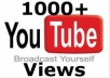 give you 3000+ youtube views in 5 days