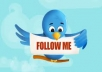 give you 260+++ real and safe twitter followers only