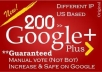 get you 200+ google+1 PLUS one votes to seo rock up your high rank on big G+(- hurry
