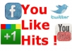 give you YouLikeHits account with 50000++ points