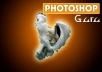 complete any PHOTOSHOP job,photo editing,photoshop image according to your requirements within 48 hours