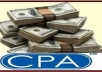 show you guaranteed and new method to make money on cpa