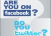 Provide 1750 Facebook Likes on your Fanpage, TWEET your page to 20000 Real Twitter Followers and suggest your page to my 30000 Facebook Friends
