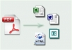 convert 5 PDF files onto Doc,Html,Jpeg,Csv,Text,Excel and More