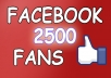 give you 2,500 Facebook Page Likes without admin access within 24 hours to DOMINATE Fb Marketing