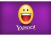 provide you 1000 fresh Yahoo accounts just 