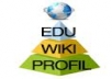 create 50 EDU PROFILES + 30 EDU WIKI Backlinks and 1000 WIKI Backlinks + 500 EDU Backlinks as Tier2 GREAT EDU Pyramid