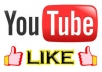give you 1000 verified YouTube video like within 72 hour For your YouTube video