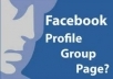  add 6,000+ friends in your facebook group and all members will be real and active without admin access 