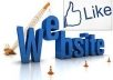 Provide 500 real facebook (web like) within 72 hours