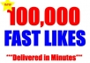 give you 100,000 + Instagram Likes to all your photos, up to 1000 photos and above not